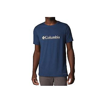 Columbia Tech Trail Graphic Tee 1930802464 universal todo el año camiseta masculina