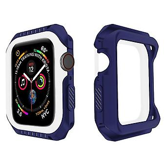 Probefit Silicone&hard Armor Case For Apple Watch Frame Protective Bumper Cover