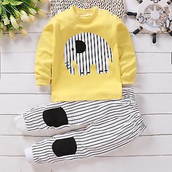 Kinder Langarm Pyjamas Anzug, Baby/Jungen Cartoon Sleepwear Set
