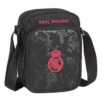 Olkalaukku Real Madrid C.F. Musta