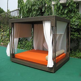 Most Popular Furniture Rattan Daybed With Canopy Sun Bed