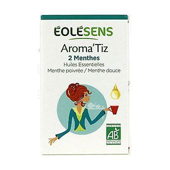Aroma'tiz Herbal Tea 2 ORGANIC Mint 30 packets of 1.5g (Mint)
