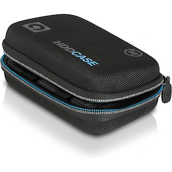 """FengChun 2,5"""" HDD Case, Festplattentasche für 2.5 Zoll Festplatte und SSD (Tasche mit Kabelfach,"""