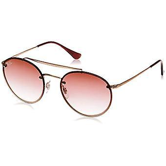 Ray-Ban 0RB3614N Sonnenbrille, Braun (Demi Gloss Kupfer), 54.0 Unisex-Erwachsene