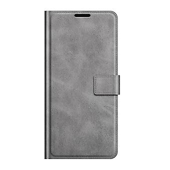 Pu leather magsafe case for samsung a51 4g gray pc174
