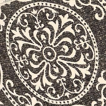 vidaXL Perhonen nojatuoli painettu kangas