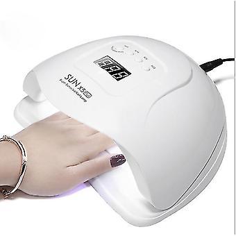 Uk plug white uv led lamp for nails dryer - lamp for manicure gel nail lamp az9207