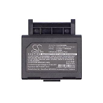 Cameron Sino Icn200Bl Battery Replacement For Intermec Barcode Scanner