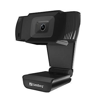 Sandberg USB Webcam 480p Mikrofón Automatická korekcia svetla 30° Otočná 5-ročná záruka