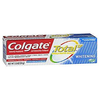 Colgate Colgate Total SF Whitening Anticavity-Antigingivitis & Antisensitivity Toothpaste Gel, 3.3 Oz