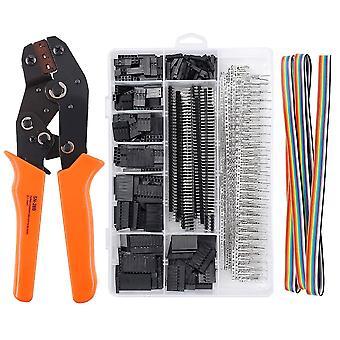 SN-28B Crimping Tool Kit Crimp Pliers Terminal Ferrule Crimper Wire Hand Tool Set