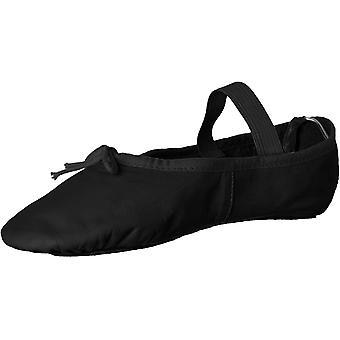 Leo Girls' Ballet Russe Dance Shoe, White, 11.5 C US Little Kid