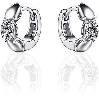 Gisser Jewels Örhängen I01E001 - Gerhodineerd sterling silver
