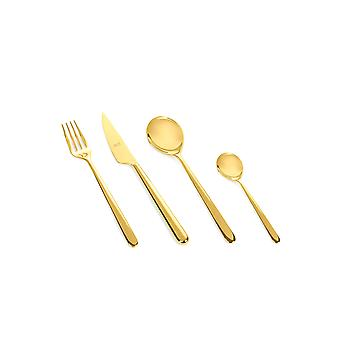 Mepra Linea Oro 24 pcs flatware set