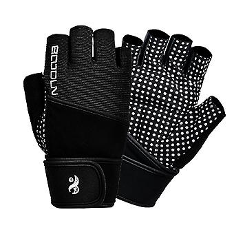 Fashion Gym Exercise Fitness Gloves Leica Dumbbell Weight Lifting Anti Slip Strength Training Bicycle Riding Gloves