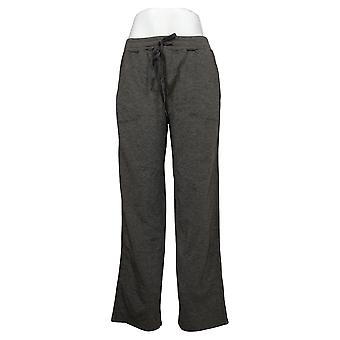 Soft & Cozy Women's Pants Solid Pull On w/ Pockets Gray 663227