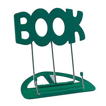 The 'BOOK' Stand Book Holder, Green