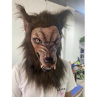 Animal autonome imitant le masque de tête de loup