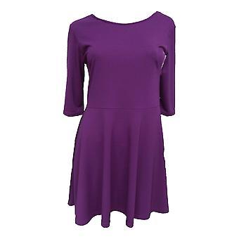 Fioletowy Rozkloszowana sukienka DR482-8