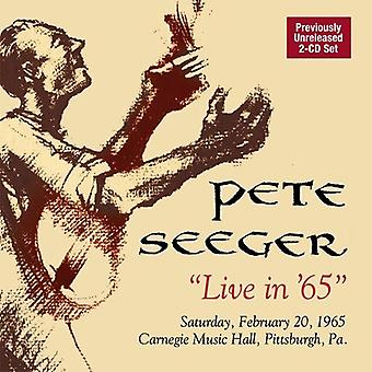 Pete Seeger - Live in 65 [CD] USA import
