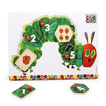 The Very Hungry Caterpillar Peg Puzzle, By Rainbow Designs