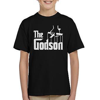 Kummisetä yksi lapsi t-paita
