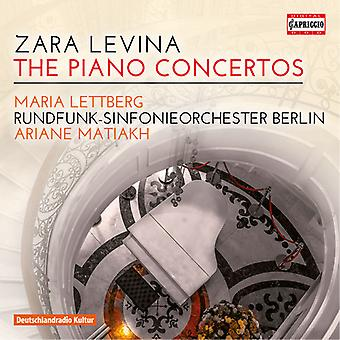 Levina / Lettberg / Matiakh - Piano Concertos [CD] USA import