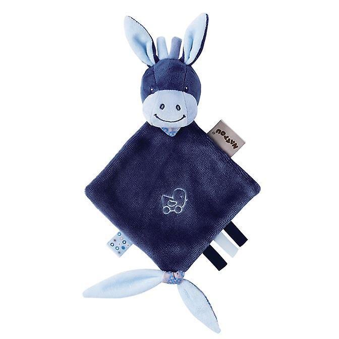 Nattou Alex And Bibou- Mini Doudou Alex The Donkey