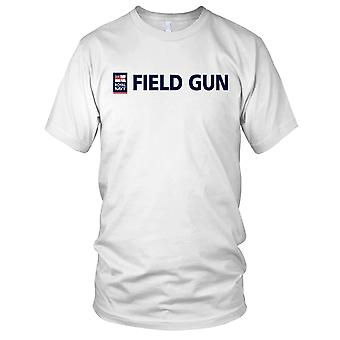 Royal Navy feltkanon Mens T-skjorte
