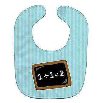 Carolines skarby BB9027BIB powrót do szkoły matematyki Baby Bib