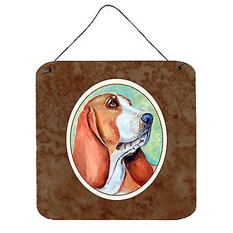 Carolines Treasures  7227DS66 Basset Hound Wall or Door Hanging Prints