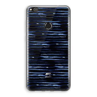 Huawei Ascend P8 Lite (2017) Transparant fall (Soft) - förvånande linjer