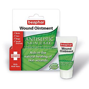 Beaphar Wound Ointment Antiseptic Skin Care for Dogs Cats and Small Animals 30ml