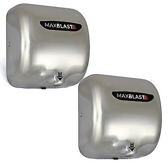 2 x Automatic Hand Dryers / MAXBLAST Electric Commercial Powerful Drying Machine