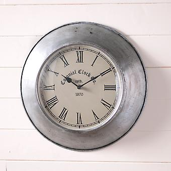 Irvin's Country Tinware Springhouse Wall Clock