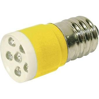 CML LED indicator light E14 Yellow 24 V DC, 24 V AC 1050 mcd 18646352 axis C