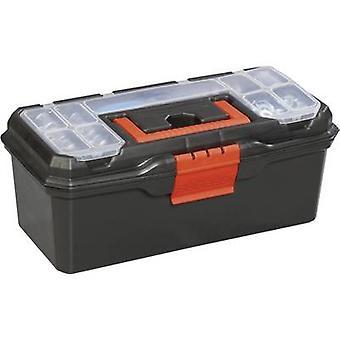 Alutec 56250 תיבת הכלי (ריק) פלסטיק שחור