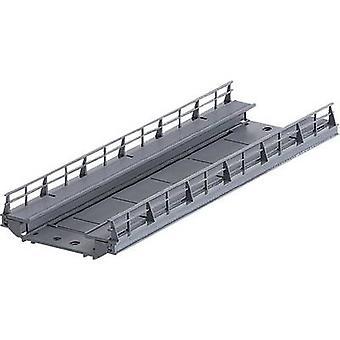 Märklin 074618 H0 Slab 1-rail H0 Märklin C (incl. track bed) (L x W) 180 mm x 64 mm