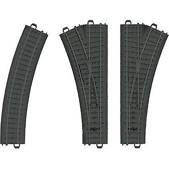 Märklin World 23301 H0 din plastic Track Weichen-set