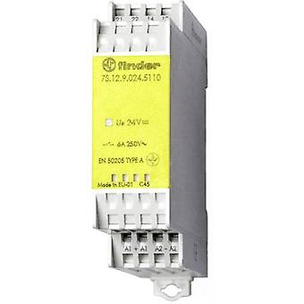 Finder 7S.12.9.024.5110-1 - 6A Relay Module With Forcible Guided Contacts SPST-NO, SPST-NC 250V AC IP20