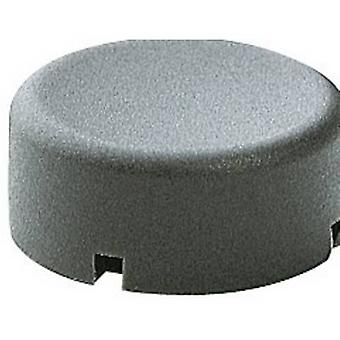 Marquardt 840.000.021 Sensor Cap Button cap round Dark grey Compatible with (details) Series 6425 without LED