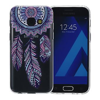 Henna Cover für Samsung Galaxy S7 Case Schutz Hülle Silikon Traumfänger