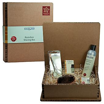 Gold roof trimming set in gift box gift set beard set