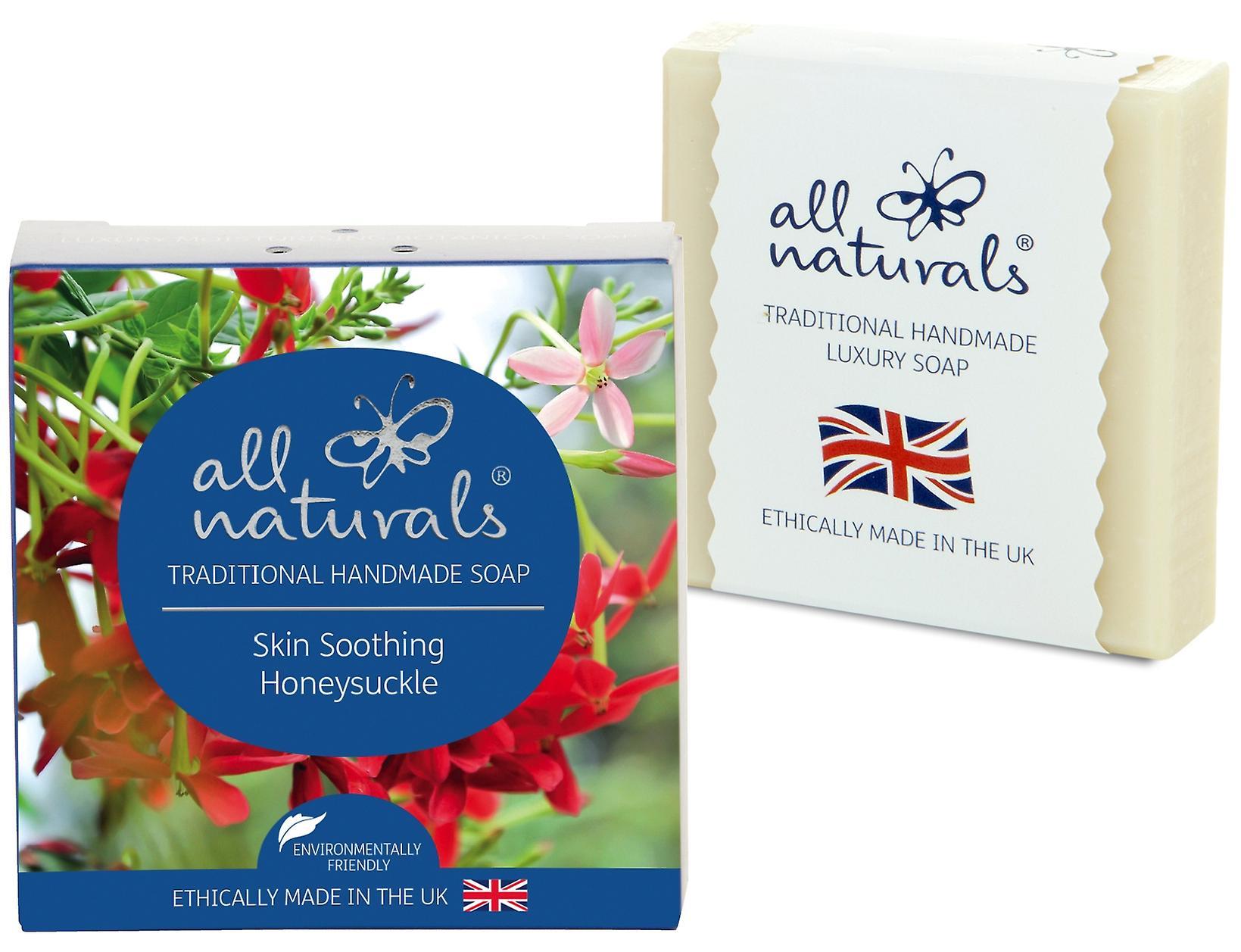 All Naturals Organic Soap Bar Honeysuckle 100g.