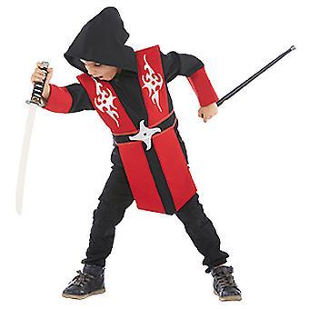 Ninja Haruto Kinder Kostüm junge Kämpfer Kombat Fighter