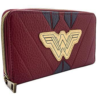 DC me demande femme rouge Warrior costume Coin & carte Clutch Purse