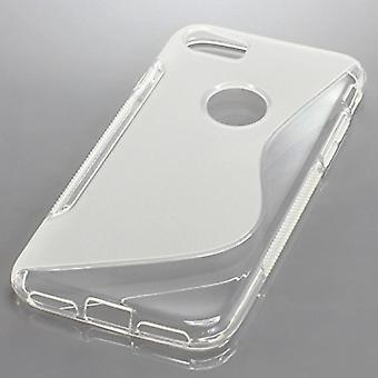 Mobila case TPU case för mobiltelefon Apple iPhone 7 transparent