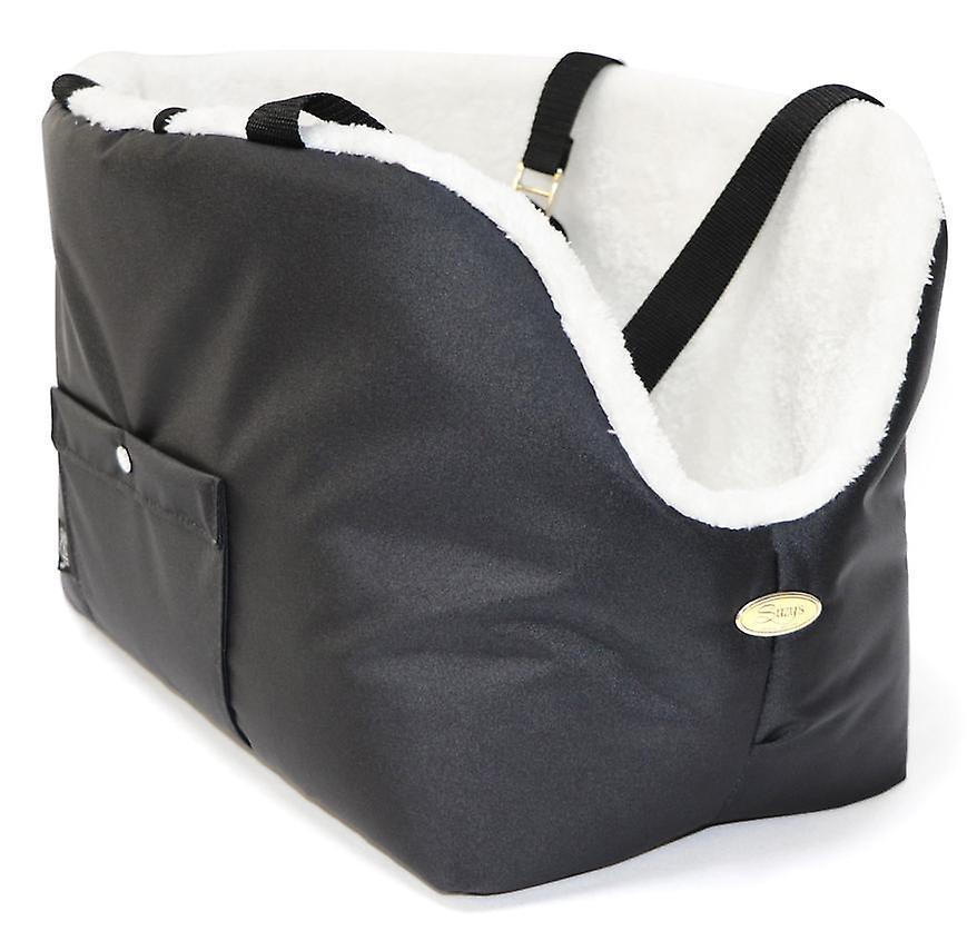 Rainy Bear Black and Ivory Dog Carrier