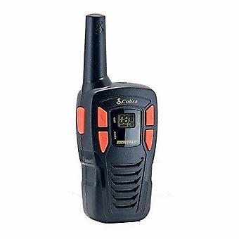 Cobra AM245 Lightweight talkie-walkie avec jusqu'à 5 Km de portée, Power Saving fonction et inclut des piles rechargeables (lot de 2) - noir