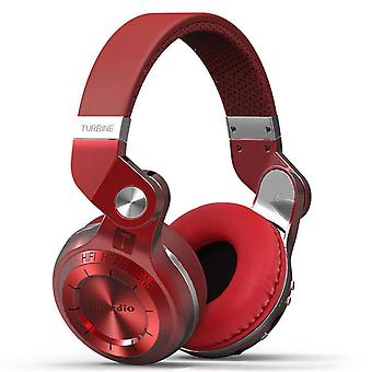 Bluedio T2 + wireless Bluetooth Stereo headphone/headset-Red